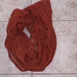 Accessories - Burnt Orange Infinity Scarf